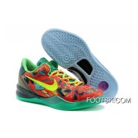 """What The Kobe"" Nike Kobe 8 Electric Orange/Deep Night-Violet-Bright Citrus For Sale NcpB2Yk"