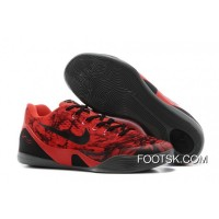 Best Nike Kobe 9 Low EM XDR Red Black Online