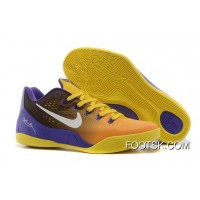 Copuon Code Nike Kobe 9 Low EM Court Purple/Yellow-White