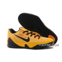 "2014 ""Bruce Lee"" Nike Kobe 9 EM University Gold/Black-Laser Crimson New Release QQiAwHY"