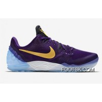"""Lakers"" Nike Kobe Venomenon 5 Court Purple/University Gold-White Top Deals Z7mkK"