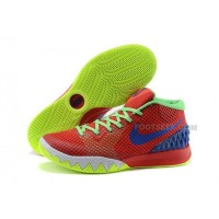 Cheap Nike Kyrie 1 2015 Red Blue Green Basketball Shoes Sale 2016