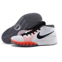 Cheap Nike Kyrie 1 2015 White Black Red Basketball Shoes Sale 2016