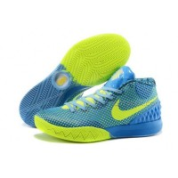Cheap Nike Kyrie 1 2015 Blue Green Basketball Shoes Sale 2016