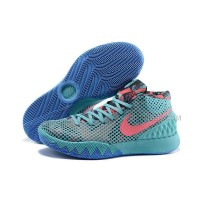 Cheap Nike Kyrie 1 2015 Cyan Blue Orange Basketball Shoes Sale 2016