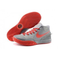 Cheap Nike Kyrie 1 2015 Grey Red Basketball Shoes Sale 2016