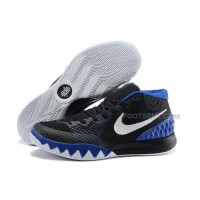Cheap Nike Kyrie 1 2015 Black White Blue Basketball Shoes Sale 2016