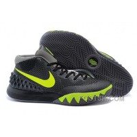 Discount Nike Kyrie 1 Grade School Shoes Black Yellow