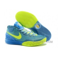 Free Shipping Nike Kyrie 1 Grade School Shoes Blue Green