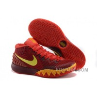 Discount Nike Kyrie 1 Grade School Shoes Magenta Yellow
