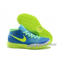 Authentic Nike Kyrie 1 Grade School Shoes Yellow Blue