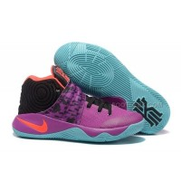 "Nike Kyrie 2 ""Easter"" Purple/Mint-Red-Black"