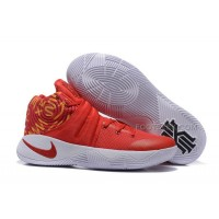 Nike Kyrie 2 Gym Red/White-Yellow Nike Kyrie Sale