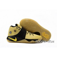 'All-Star' Nike Kyrie 2 Celery/Varsity Maize-Black Authentic PHJH2HC
