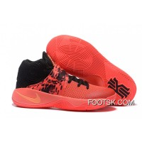 official photos d8096 9ab91 Nike Kyrie 2 Inferno Bright Crimson Atomic Orange-Black Top Deals XEtdj7z