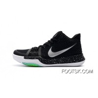Nike Kyrie 3 Air Zoom 3 Black Green Best