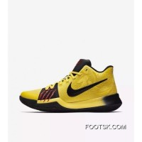 Nike Kyrie 3 Bruce Lee Men Basketball Shoe Free Shipping
