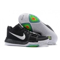 Nike Kyrie 3 Mens BasketBall Shoes Black White Discount