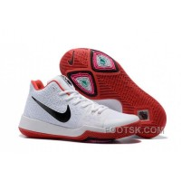 Nike Kyrie 3 Mens BasketBall Shoes White Red Top Deals