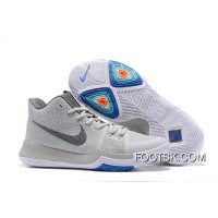 "Nike Kyrie 3 ""Wolf Grey"" Authentic"
