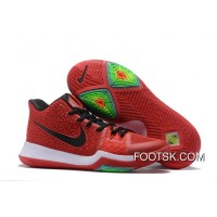 Nike Kyrie 3 University Red/Black-White On Sale New Style
