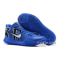'Duke' Nike Kyrie 3 Black/Game Royal Super Deals ZytAQ