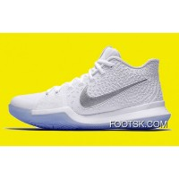 Nike Kyrie 3 'White Chrome' 852395-103 Best WnHXz7n