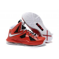 Nike Zoom LeBron 10(X) Red/Black/White Discount