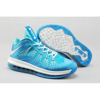 Nike Air Max Lebron X Low Sky/White Discount