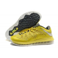 Nike Air Max Lebron X Low Yellow/Grey Discount
