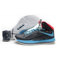 Nike Lebron 10 Black/Blue/White Discount
