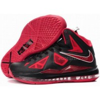 Nike Zoom LeBron 10 P.S Varsity Red/Black Discount