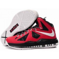 Nike Zoom LeBron 10 P.S Varsity Red/Black/White Discount