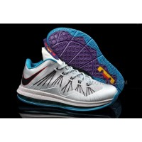 Nike Lebron X Low Summit Lake Hornets Discount