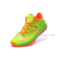 Nike LeBron 11 Low Electric Green/Total Orange