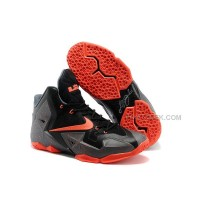Nike LeBron 11 Dark Grey/Black-Orange  For Sale