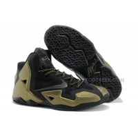 Nike LeBron 11 Black/Metallic Gold For Sale