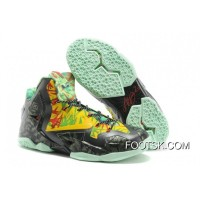 """Nike LeBron 11 """"Kings Ring"""" Black-Yellow/Red Maple For Sale"""
