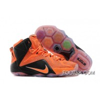 Copuon Code Nike LeBron 12 Team Orange/Black