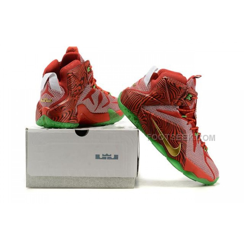 ... LeBron 12 LeBrons Mix NIKEiD Sprite Original Basketball Shoes ...