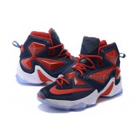 Lebron 13 XIII Lebron James 2016 Shoes Red Dark Blue