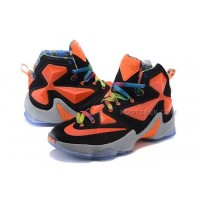 Lebron 13 XIII Lebron James 2016 Shoes Black Orange