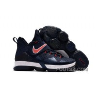 Nike LeBron 14 SBR Navy Blue Red Free Shipping