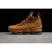 LeBron 15 LBJ15 15 897648-006 40-45 Wheat Authentic