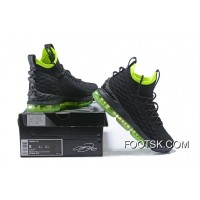 1808# 15 Nike Lebron 15 Black Green Best