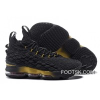 Top Deals Nike LeBron 15 Black/Metallic Gold