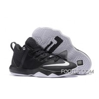 Super Deals Nike LeBron Ambassador 9 Black/Metallic Silver-White