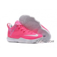 "New Nike LeBron Ambassador 9 ""Kay Yow"" Pink White Cheap To Buy JTwYKn"