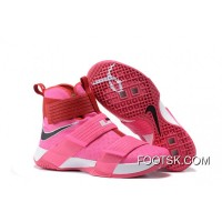 2016 Nike LeBron Soldier 10 'Think Pink' New Release XRjKw