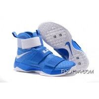 """""""Kentucky"""" Nike Zoom LeBron Soldier 10 Game Royal-White For Sale DPQFCx"""